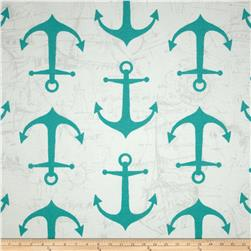 Premier Prints Indoor/Outdoor Anchors Ocean