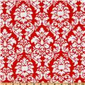 Michael Miller Dandy Damask Rouge