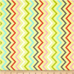 Michael Miller Mini Chic Chevron Spa