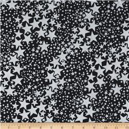 Kanvas Spooktacular Sparkle Star Black