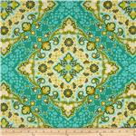 206589 Joel Dewberry Notting Hill Kaleidoscope Basil