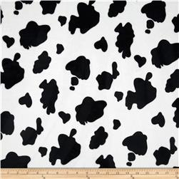 Minky Cow Black/White