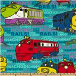 Fleece Chugginton Traintastic Teal