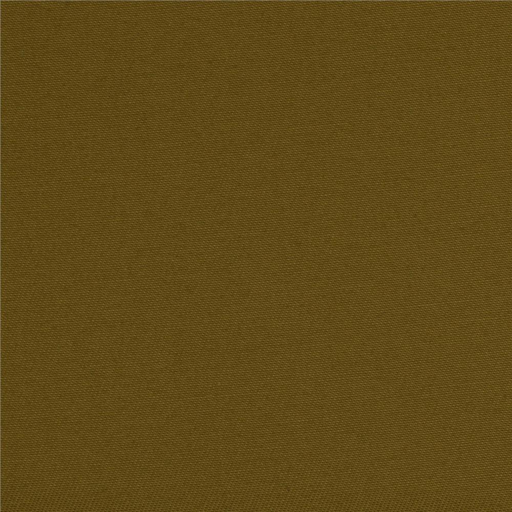 Organic Cotton Twill Olive