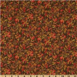 Moda Foliage Fall Color Brown