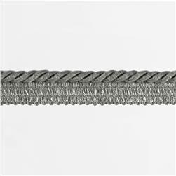 "Duralee 1/4"" Lip Cord Smoke"