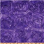 UN-043 Splenda Satin Ribbon Rosette Lilac