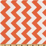 FO-216 Riley Blake Chevron Medium Orange