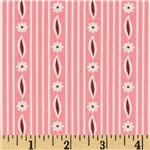 0291938 Aunt Grace First Place Daisy Stripe Pink