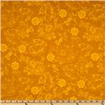 217833 Phantom of the Opera Masquerade Floral tones Gold