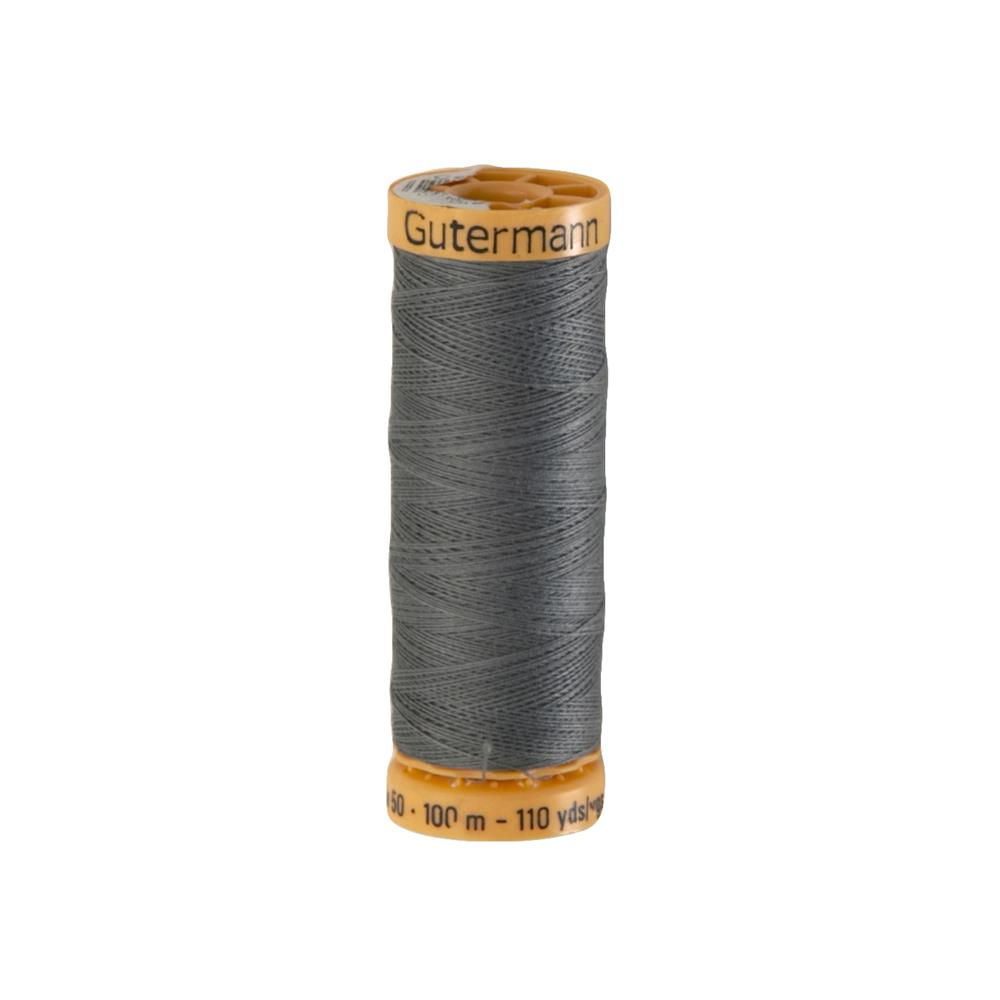 Gutermann Natural Cotton Thread 100m/109yds Steel