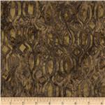 Tonga Batik Mocha Kiss Woodcut Fudge