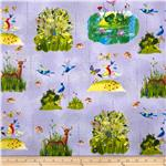 228026 Forest Wonder Animals Purple