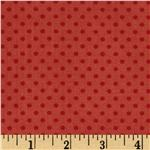 232633 Moda Odds & Ends Hankie Dots Rosebud Red