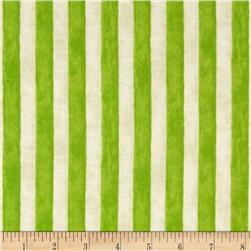 Seaside Village Cabana Stripe Lime
