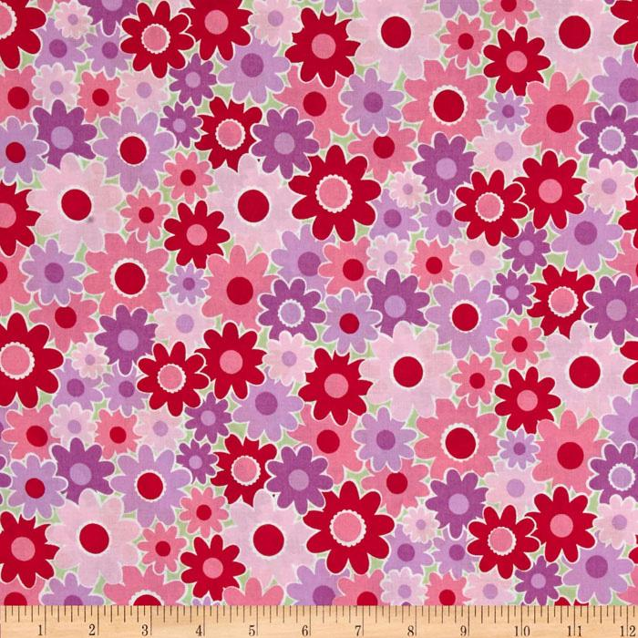 Dilly Dally Floral Jamboree Pink