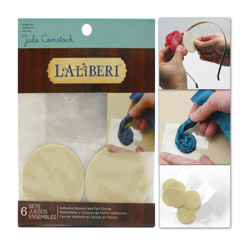 Laliberi Adhesive Rounds Large