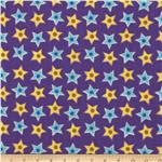 Nursery Rhymes Stars Purple