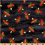 The Grouchy Ladybug Lightening Bug Black