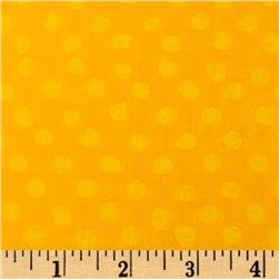Indian Batik Eastside Pucker Dot Yellow