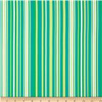 0273755 Michael Miller Lavinia Play Stripe Caribbean