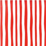 Celebrate Seuss! Minky Cuddle Squiggle Stripe Red/White