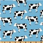 Menagerie Cow Blue