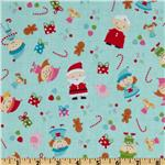 FL-957 Santa&#39;s Workshop Main Blue