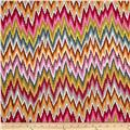 Kaffe Fassett Cotton Sateen Flame Stripe Paste
