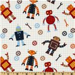 Robot Factory Organic Robot Allover Earth Brown