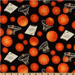Sports Collection Basketball & Hoops Black