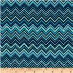 0273050 Valori Wells Novella Cotton Sateen ZigZag Blue