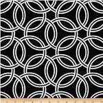 0286773 Michael Miller Bekko Home Decor Swirl Black