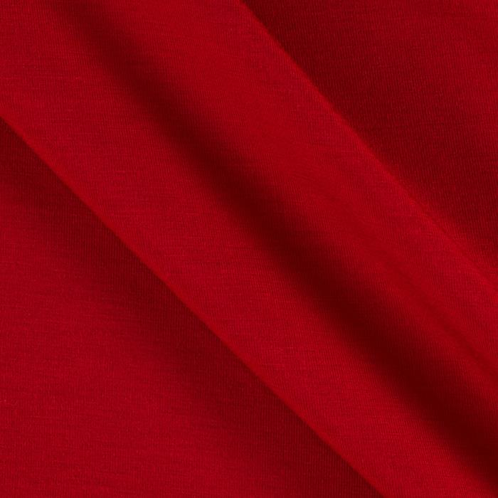 Stretch Bamboo Rayon Jersey Knit  Red