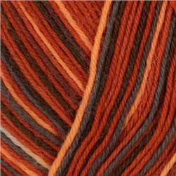 Lion Brand Sock Ease Yarn (203) Red Hots