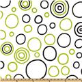Premier Prints Bubbles Black/Chartreuse