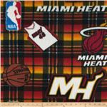 0274582 NBA Fleece Miami Heat Red