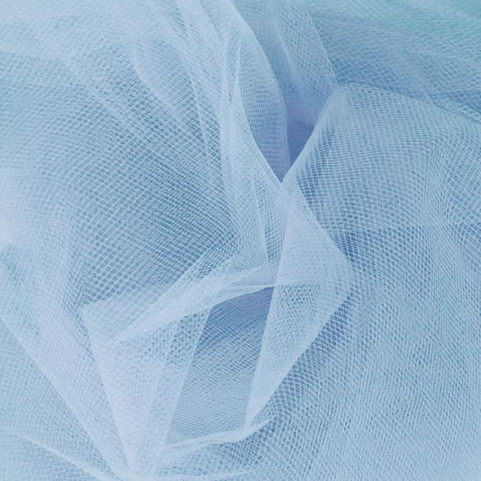 54&#39;&#39; Wide Tulle Cotillion Blue