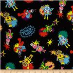 Yo Gabba Gabba Small Toss Black