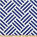 0286757 Michael Miller Bekko Home Decor Parquet Navy