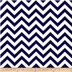Premier Prints ZigZag Twill Blue