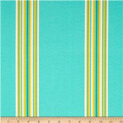 Tempo Indoor/Outdoor Cabana Stripe Capri