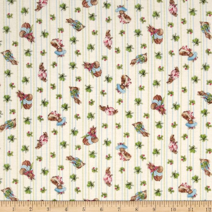 Garden Tales Bunny & Carrot Stripe Cream
