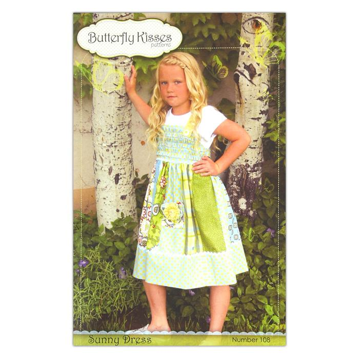 Butterfly Kisses Girls&#39; Sunny Dress Pattern Booklet