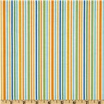 226452 Riley Blake Zoofari Organic Stripe Orange