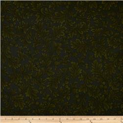 Holiday Opulence Damask Green