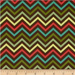 Tweet Zig Zag Brown