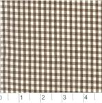 AP-850 Woven 1/8 Gingham Chocolate Brown