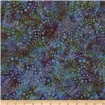 Batavian Batiks Spiral Dots Multi
