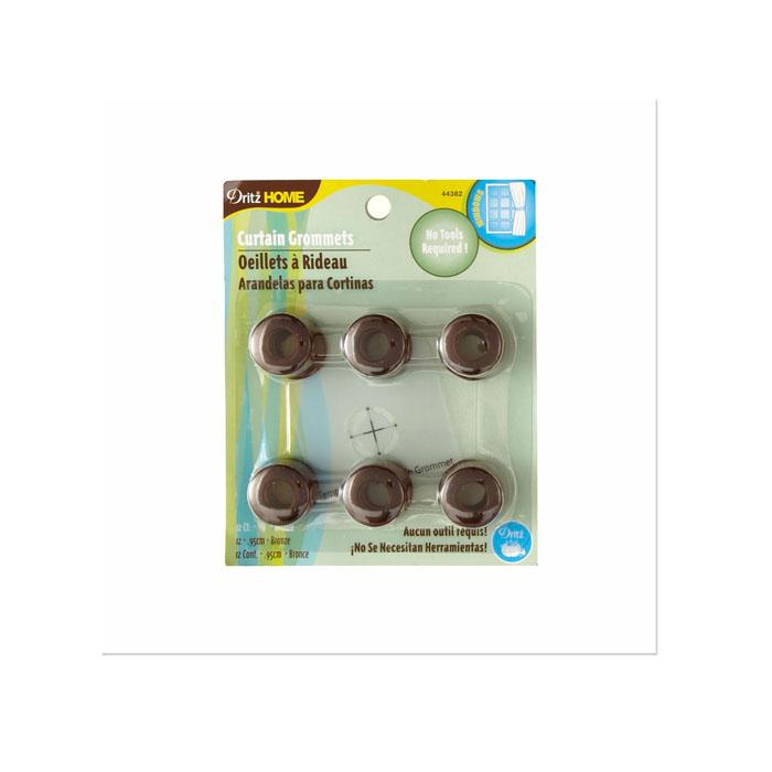 "Curtain Grommets 3/8"" Bronze"